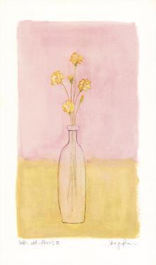 Bottle With Flowers lll by Lara Jealous