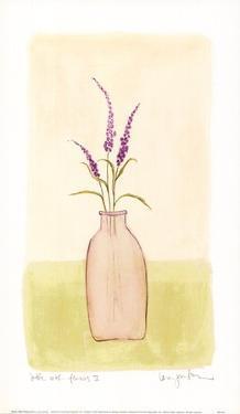 Bottle With Flowers lV by Lara Jealous