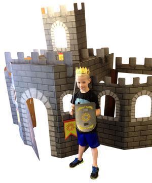 Large 3D Castle Standup