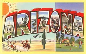 Large Letter Arizona