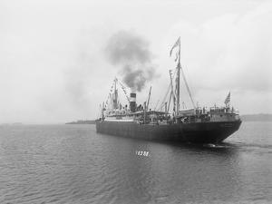 Large Ship in Waters