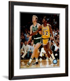 Larry Bird And Magic Johnson