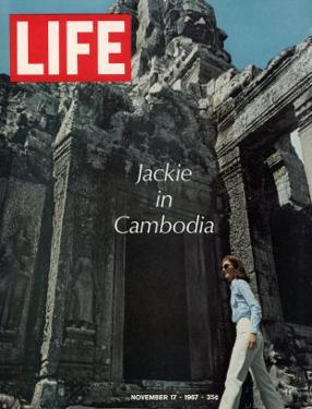 Jacqueline Kennedy in Cambodia, November 17, 1967 by Larry Burrows