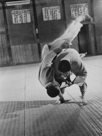 Judo Practice in Japan by Larry Burrows