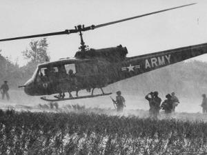 US Military Helicopters by Larry Burrows