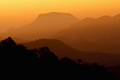 Davis Mountains at Sunrise in West Texas, USA by Larry Ditto