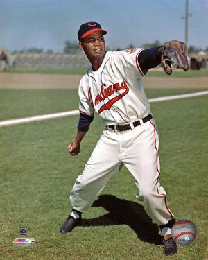 Larry Doby Posed