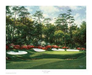 The 13th At Augusta by Larry Dyke