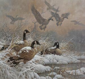 Winter Retreat by Larry Fanning