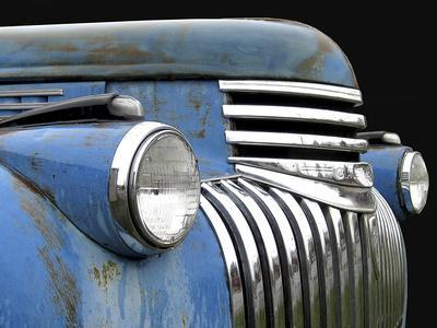 Chevy Grill Blue