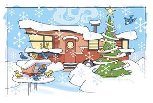Christmas Trailer Park by Larry Hunter
