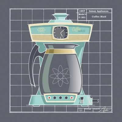 Galaxy Coffeemaid - Aqua