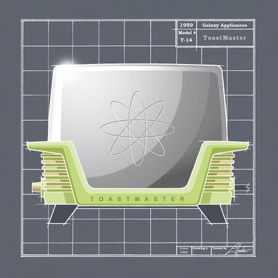 Galaxy Toaster - Lime