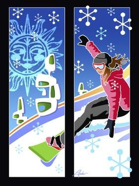 Snowboarder by Larry Hunter