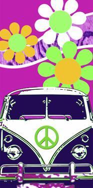 VW Fuscia by Larry Hunter