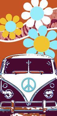 VW Orange by Larry Hunter