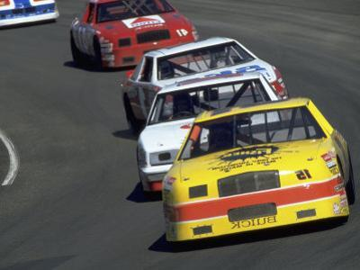 Cps 13 Race Cars on Track by Larry Joubert