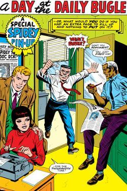 The Amazing Spider-Man No.5: J. Jonah Jameson Screaming by Larry Lieber