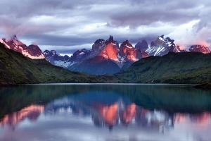 Dawn Torres del Paine by Larry Malvin