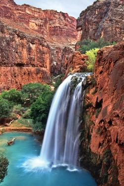 Havasu Falls I by Larry Malvin