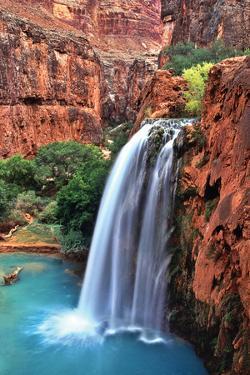 Havasu Falls II by Larry Malvin