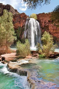 Havasu Falls IV by Larry Malvin