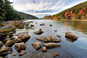 Jordan Pond by Larry Malvin