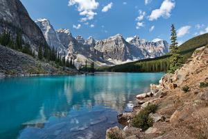 Moraine Lake I by Larry Malvin