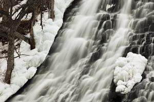 Oshinkoshin Falls I by Larry Malvin