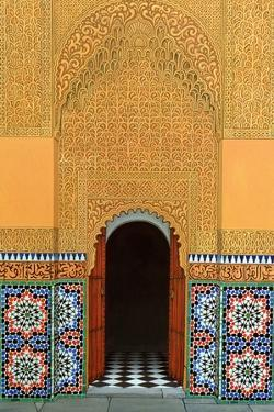 Door, Marrakech, 1998 by Larry Smart
