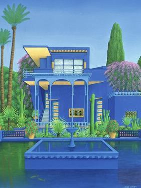 Majorelle Gardens, Marrakech, 1996 by Larry Smart