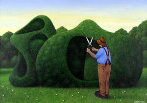 Moore Topiary by Larry Smart