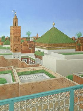 Rooftops, Marrakech by Larry Smart