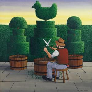 The Gardener, 1986 by Larry Smart