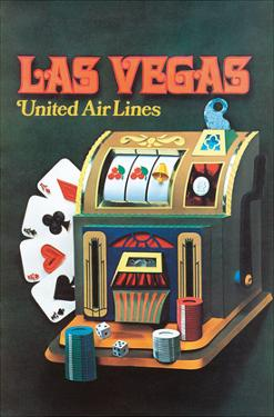 Las Vegas, Nevada - United Air Lines - Slot Machine