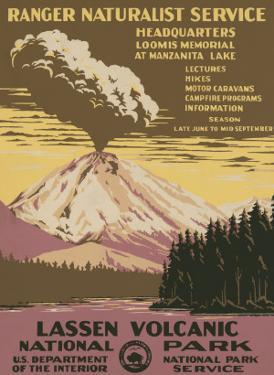 Lassen Volcanic National Park, c.1938