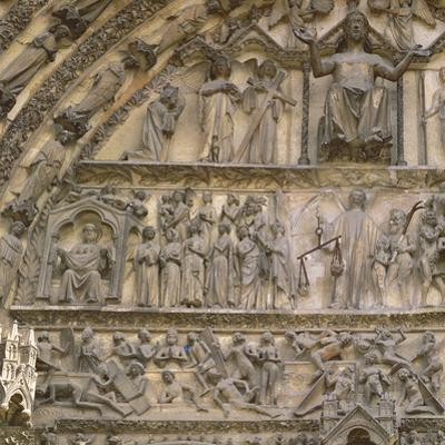 Last Judgement, Tympanum of the Central Portal of West Facade