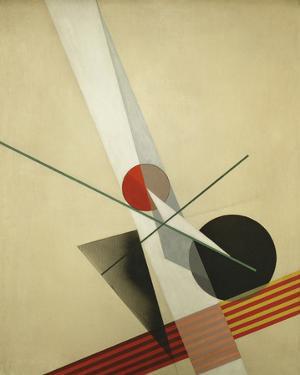 Composition A XXI by Laszlo Moholy-Nagy