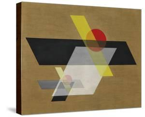 Construction A II, 1924 by Laszlo Moholy-Nagy