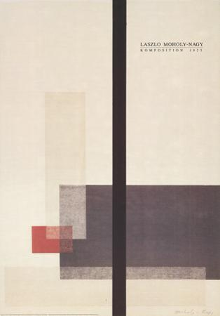 Komposition Farblithographie by Laszlo Moholy-Nagy