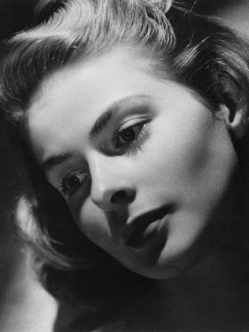 Ingrid Bergman, Swedish Actress and Film Star, Late 1930s-Early 1940s by Laszlo Willinger