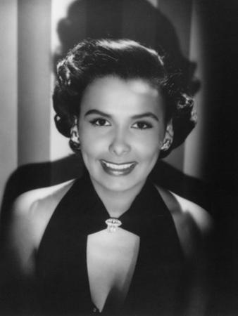 Lena Horne, American Actress and Film Star, 1945 by Laszlo Willinger