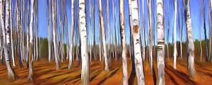 Late Afternoon in the Birch