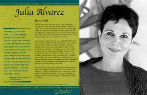 Latino Writers - Julia Alvarez
