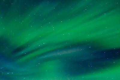 Streaks of Green Auroras by Latitude 59 LLP