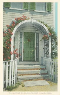 Lattice Door, Nantucket, Massachusetts