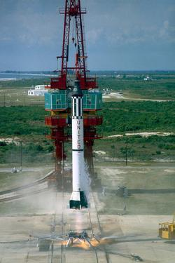 Launch of Freedom 7 by NASA on May 5 1961