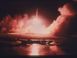 Launch of the Apollo 17 Mission, 1972