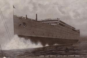 Launch of the Cunard Liner RMS Aquitania, Clydebank, Scotland, 21 April 1913