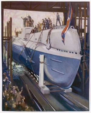 Launching a Submarine